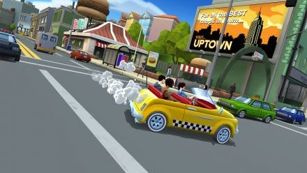 Vid�o : Crazy Taxi City Rush sur iOS : trailer de lancement