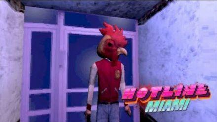 Hotline Miami sur PS1 imaginé par Puppet Combo