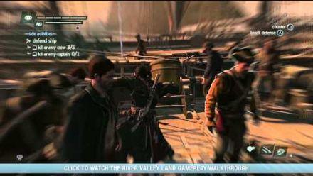 Assassin's Creed Rogue : vidéo de gameplay #1 - Gamescom 2014