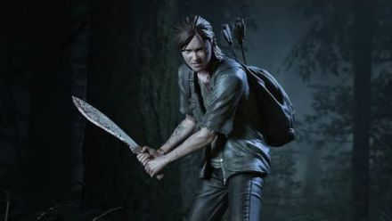 The Last of Us Part II: Ellie With Machete Statuette