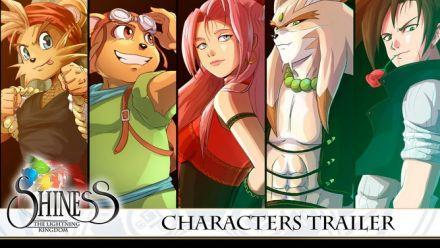 Shiness : Trailer des personnages du jeu