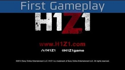 H1Z1 - First Gameplay [HD 1080P]