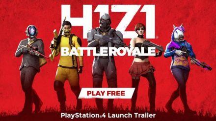 Vid�o : H1Z1: Battle Royale - PlayStation 4 trailer de lancement
