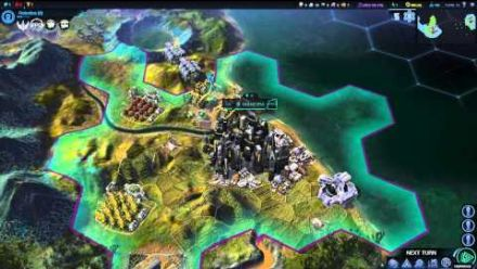 vidéo : Sid Meier's Civilization : Beyond Earth - Gameplay