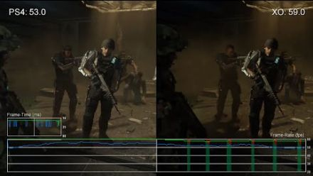 Call of Duty : Advanced Warfare - Comparatif PS4 / Xbox One