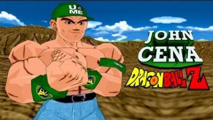 Vidéo : John Cena dans Dragon Ball Z : Budokai Tenkaichi 3