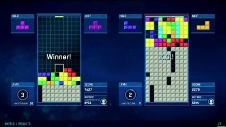 Vid�o : Tetris Ultimate - Battle Mode