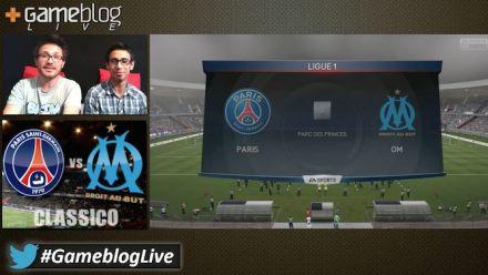 """PSG - OM : Le """"classico"""" sur FIFA 15 commenté par Gameblog"""