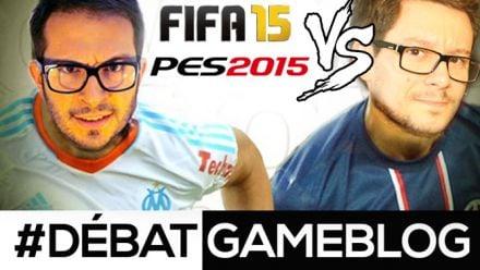Vidéo : #DébatGameblog : PES 2015 enterre-t-il FIFA 15 ?