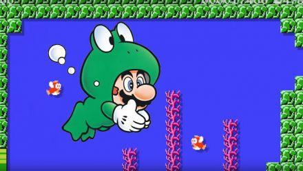 Mario Grenouille arrive dans Super Mario Maker !