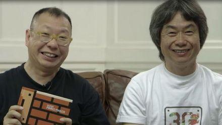 Super Mario Maker : Tezuka crée un niveau pour Miyamoto