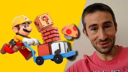 TEST Vidéo de Super Mario Maker avec Yann