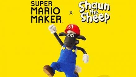 Vid�o : Shaun le Mouton débarque dans Super Mario Maker