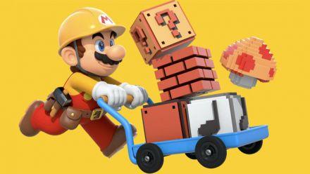 Super Mario Maker - Vidéo du portail web Bookmark