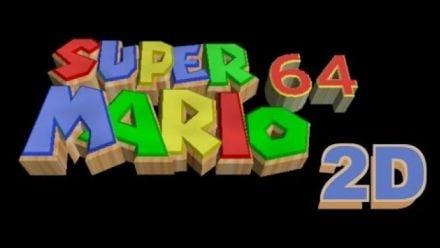 Vid�o : Super Mario Maker : Super Mario 64 1D