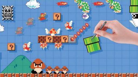 Super Mario Maker : Il finit un niveau super dur et pleure