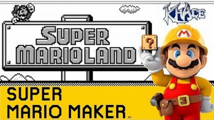 Super Mario Land recréé dans Super Mario Maker