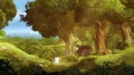 "vid�o : Ori and the Blind Forest : vidéo de gameplay maison (""La Fuite d'Ori"")"