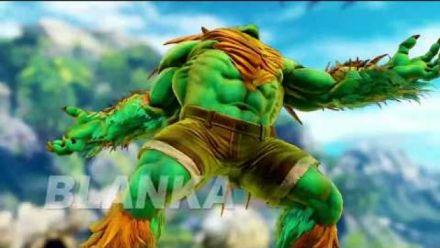 Vid�o : Street Fighter V : trailer Blanka