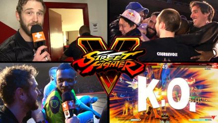 Vid�o : Dans les coulisses de la coupe de France de Street Fighter V : Notre reportage qui tape fort !