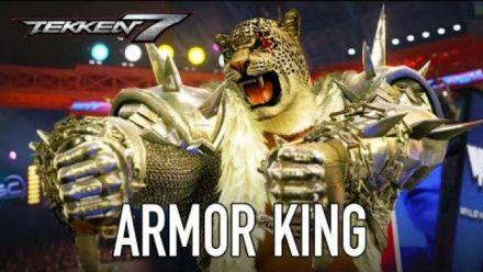 vidéo : Tekken 7 : Armor King trailer (Season Pass 2)