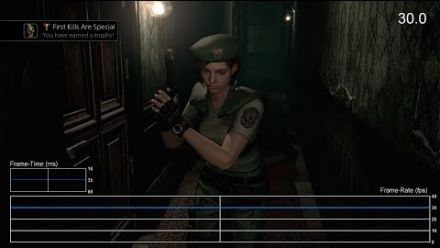 Resident Evil Rebirth HD : le test de framerate