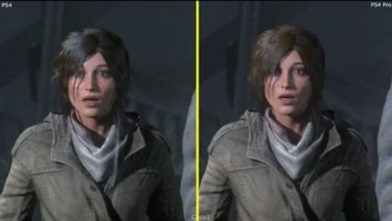 Rise of the Tomb Raider - PS4 Vs PS Pro