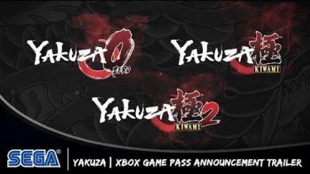 Vid�o : X019 : Bande-annonce Yakuza sur Xbox Game Pass