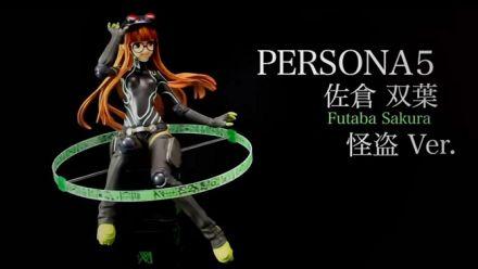 Vidéo : Une superbe statue de Sakura Futaba pour Persona 5