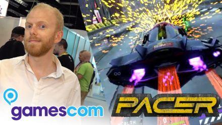 Vidéo : Gamescom 2019 : On a joué à Pacer, héritier de Wipeout