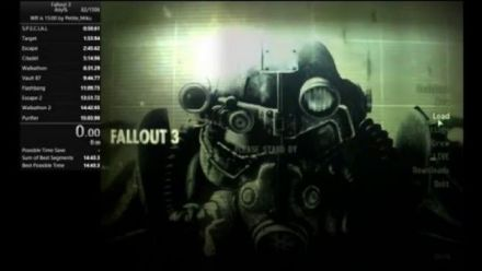Vid�o : Fallout 3 Speedrun Any% 14:54 [15:09] WR