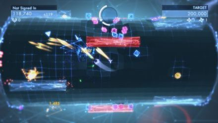 Geometry Wars 3 : Dimensions - trailer
