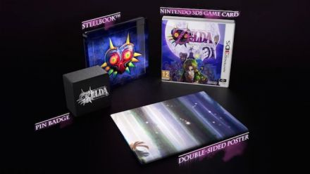 Zelda Majora's Mask 3D : l'édition collector annoncée en vidéo