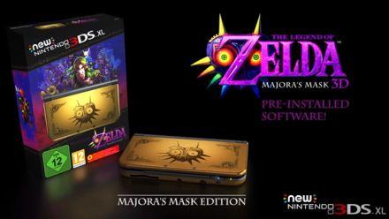 Zelda Majora's Mask 3D New Nintendo 3DS XL Collector