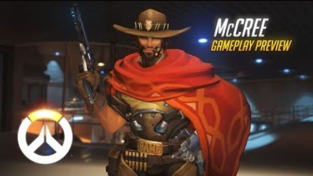 vid�o : Overwatch - McCree Gameplay Preview