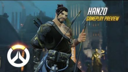vid�o : Overwatch - Hanzo Gameplay Preview