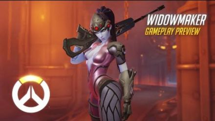 vidéo : Overwatch: Widowmaker Gameplay Preview