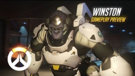vidéo : Overwatch: Winston Gameplay Preview