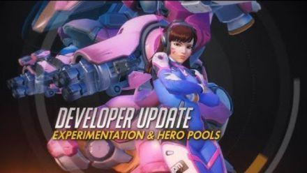 Vidéo : Developer Update | Experimentation & Hero Pools | Overwatch