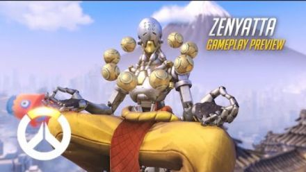 vid�o : Overwatch - Zenyatta Gameplay Preview