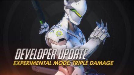 Vidéo : Developer Update | Experimental Mode: Triple Damage | Overwatch