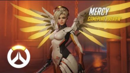 vid�o : Overwatch - Mercy Gameplay Preview