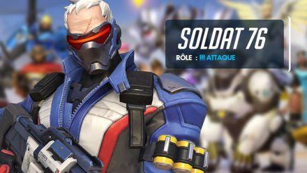 vidéo : Overwatch - Soldat 76 Gameplay
