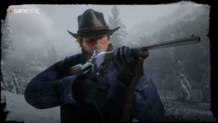 Red Dead Redemption II : 4 armes en démonstration