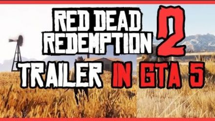 Red Dead Redemption 2 - Bande-annonce recrée avec GTA V
