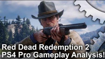 Red Dead Redemption 2 : Analyse du trailer de gameplay PS4 Pro par Digital Foundry