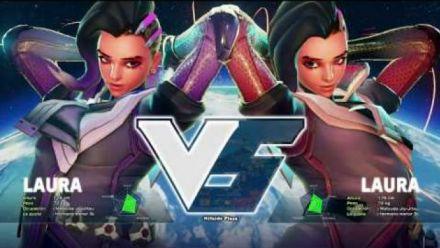 Vid�o : Street Fighter V : Sombra d'Overwatch moddée dans le jeu