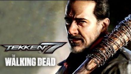 vidéo : Tekken 7 : Negan gameplay officiel