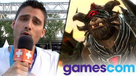 Vid�o : Gamescom 2015 : Guild Wars 2 Heart of Thorns, l'épineuse extension