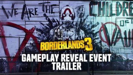 vidéo : Borderlands 3 : Reveal Event Gameplay Trailer